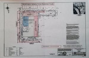 SEU Raze Plan Map